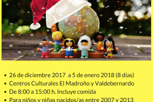 Campamentos Urbanos Navideños 2017